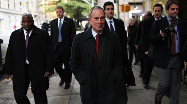 Bloomberg's 2016 tally: $65 million and counting