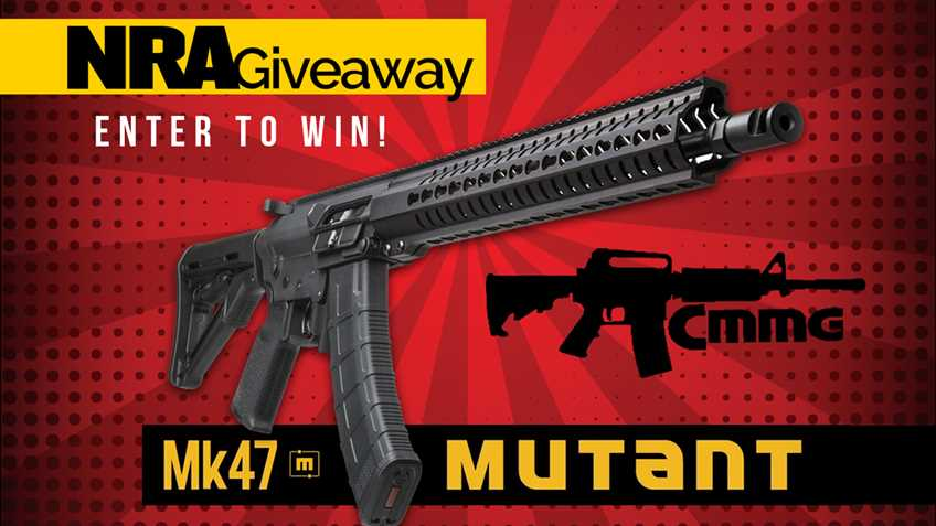 NRA CMMG Giveaway