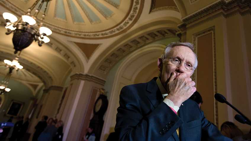 Anti-Gun Senate Minority Leader Harry Reid to Step Down