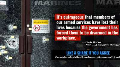 NRA: Give guns to military recruiters