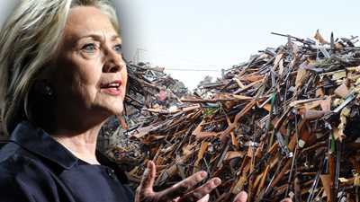 Hillary Clinton Supports Australia-style Gun Confiscation