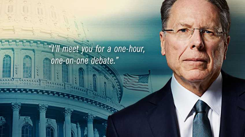 Watch Now: Wayne LaPierre's Challenge for the President