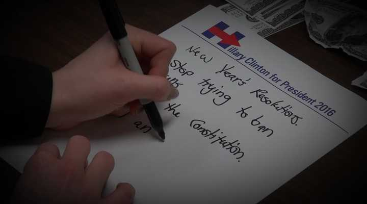 Hillary Clinton's New Year's Resolutions