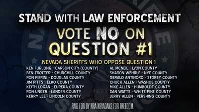 NRA Nevadans for Freedom Launches TV Ad
